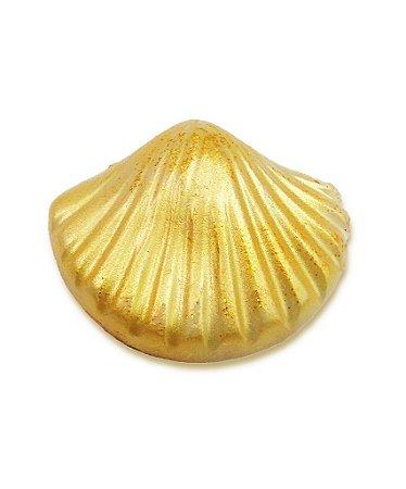 Sabonete Conchinha Dourada com Brilho (kit com 6)
