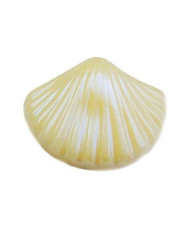 Sabonete Conchinha Branca Perolada (kit com 6)