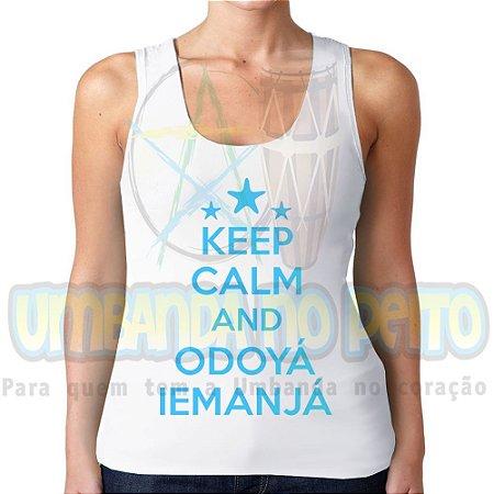 Regatinha Keep Calm and Odoyá Iemanjá