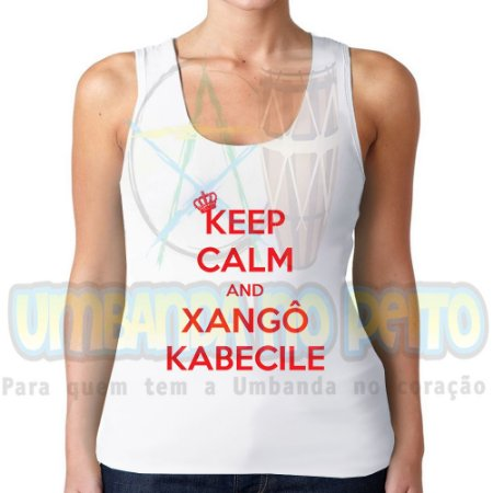 Regatinha Keep Calm and Xangô Kabecile