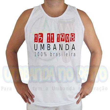 Regata Umbanda é Brasileira