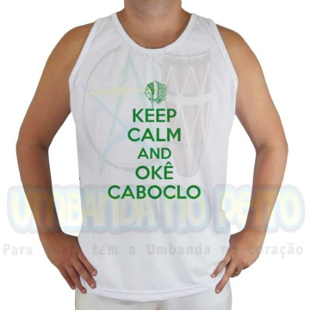 Regata Keep Calm and Okê Caboclo