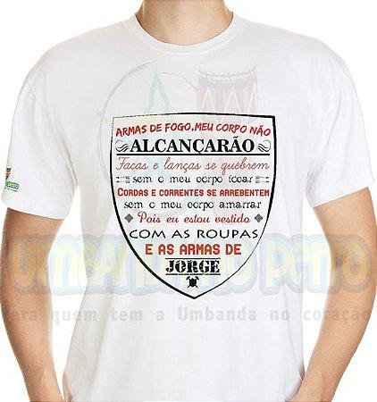 Camiseta São Jorge Oração