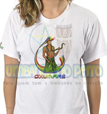 Camiseta Oxumaré Coleção Orixás (Algodão / TAM G)