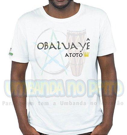 Camiseta Rei Obaluayê