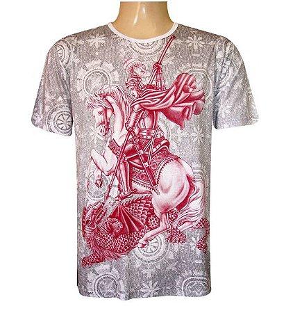 Camiseta Oração São Jorge Viscose II