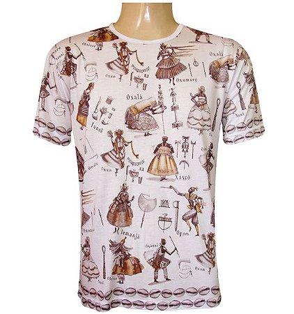 Camiseta Orixás Viscose