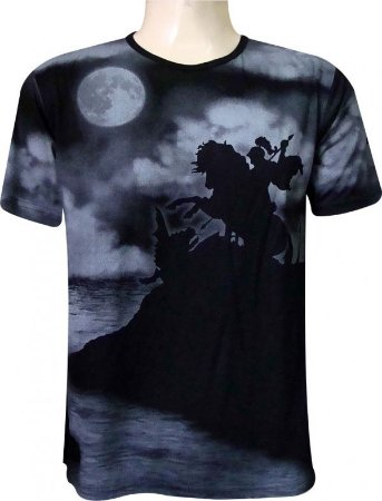 Camiseta São Jorge Noturno Viscose