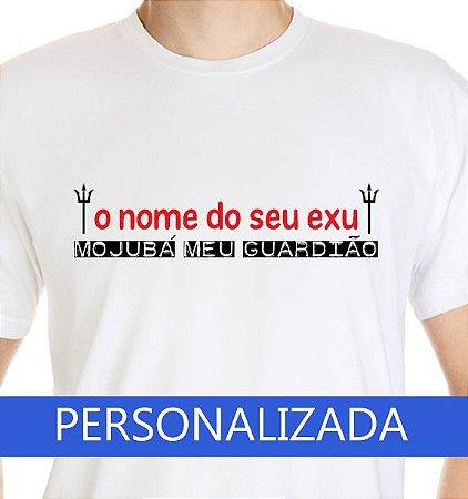 Camiseta Exu Personalizada + Estampa no Verso