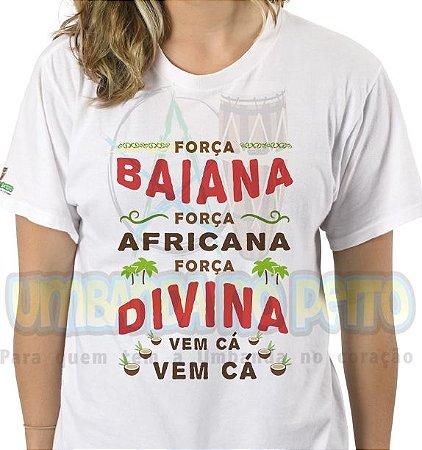 Camiseta Força Baiana