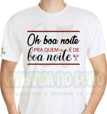 Camiseta Oh Boa Noite!