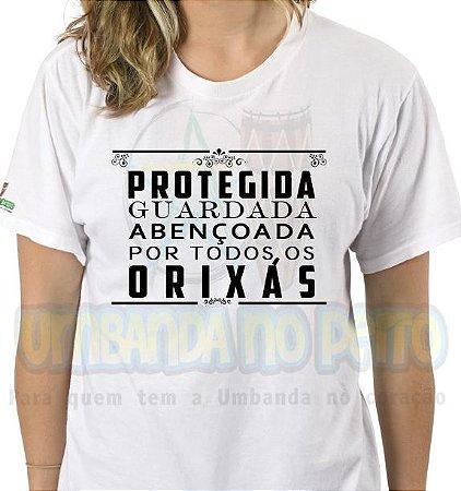 Camiseta Protegida e Guardada
