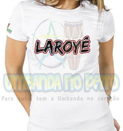 Baby Look Saudação Laroyê (TAM P)