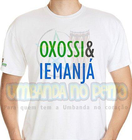 Camiseta Coleção Pai & Mãe: Oxossi & Iemanjá