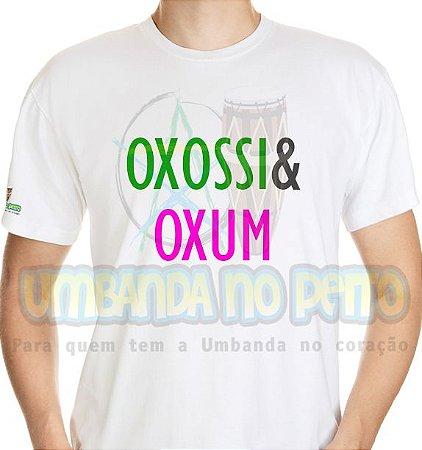 Camiseta Coleção Pai & Mãe: Oxossi & Oxum