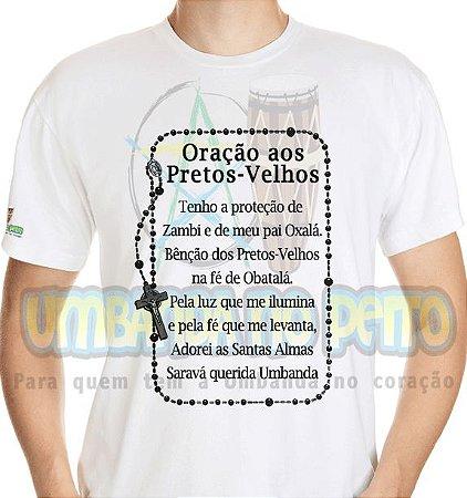 Camiseta Oração aos Pretos-Velhos