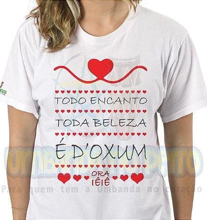 Camiseta É D'Oxum