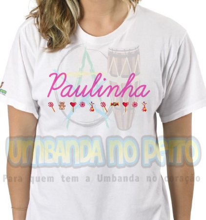 Camiseta Erê Paulinha