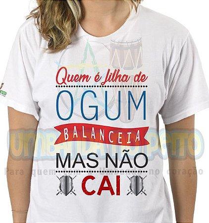 Camiseta Quem é Filha de Ogum