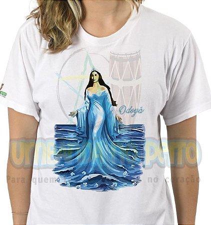 Camiseta Saravá Iemanjá