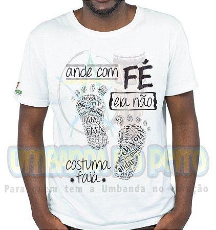 Camiseta Ande com Fé
