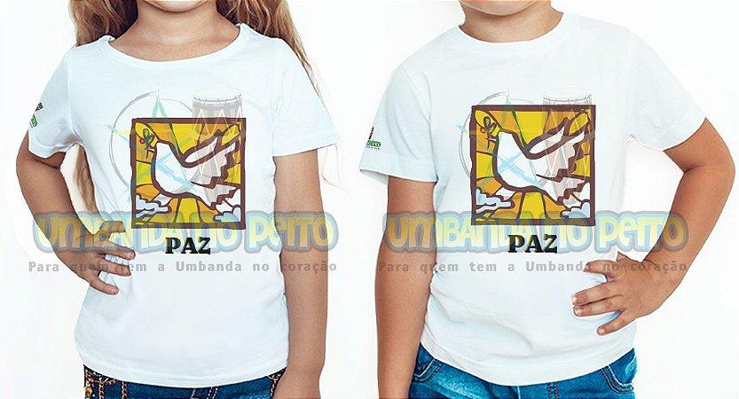 Camiseta Infantil Paz