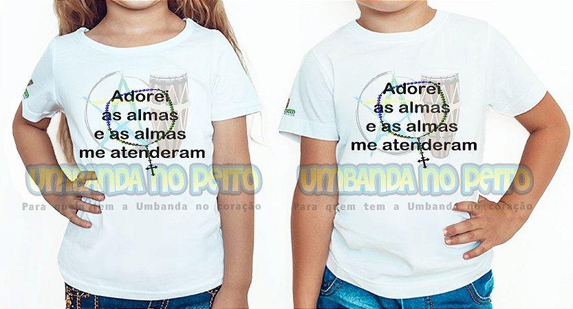 Camiseta Infantil Adorei as Almas