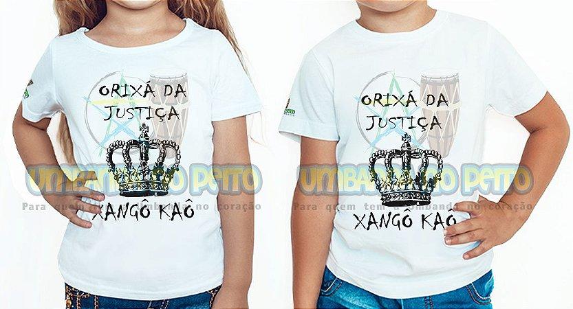 Camiseta Infantil Orixá da Justiça