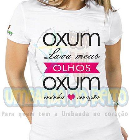 Baby Look Oxum Lava Meus Olhos