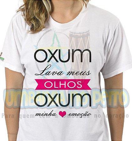 Camiseta Oxum Lava Meus Olhos