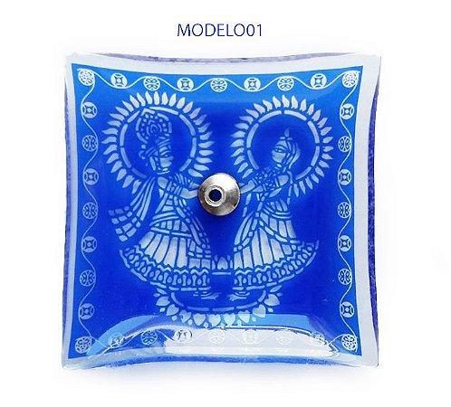 Incensário Indiano Azul