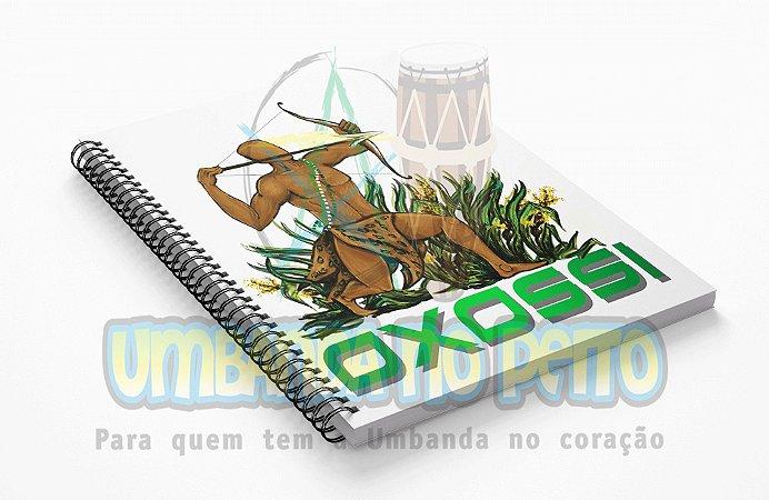 Caderno Oxossi Coleção Orixás