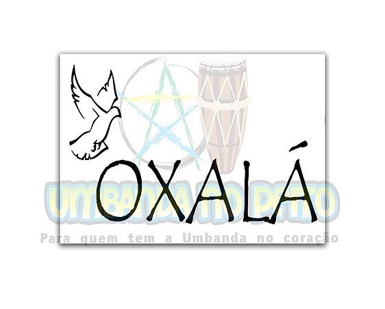 Adesivo Oxalá
