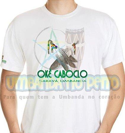 Camiseta Salve Caboclo, Salve a Umbanda
