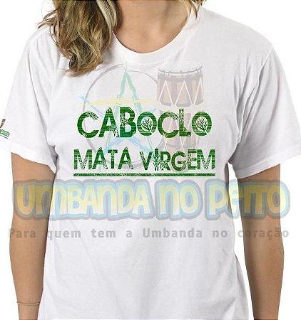 Camiseta Caboclo Mata Virgem