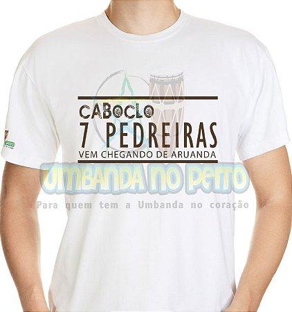 Camiseta Caboclo 7 Pedreiras