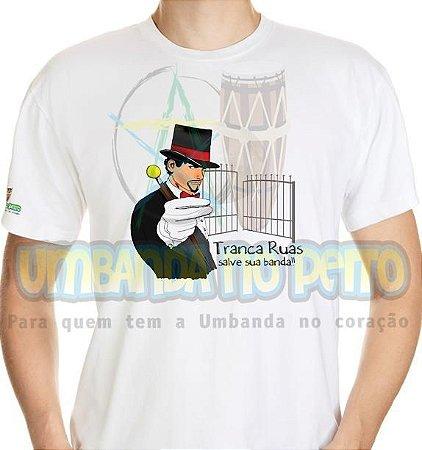 Camiseta Salve Exu Tranca-Ruas