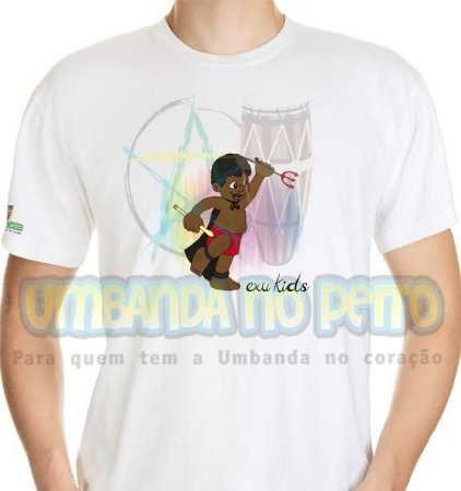 Camiseta Exu Kids