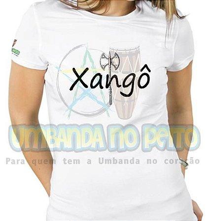 Baby Look Machado de Xangô