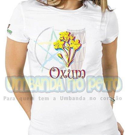 Baby Look Flores para Oxum