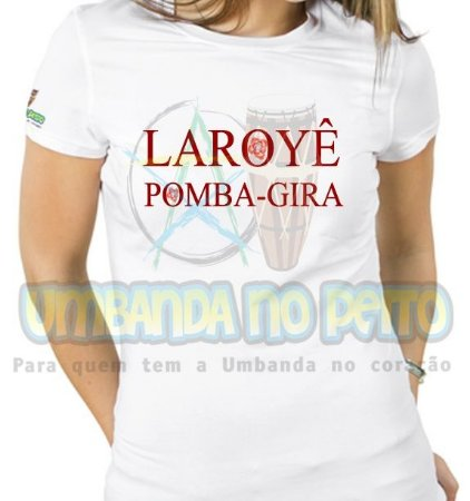 Baby Look Laroyê Pomba-Gira