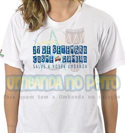 Camiseta Festa em 27 de Setembro