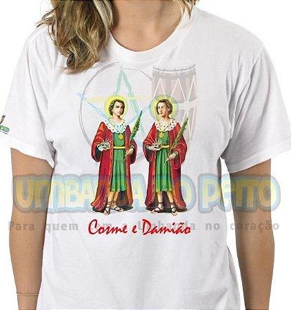 Camiseta São Cosme, São Damião