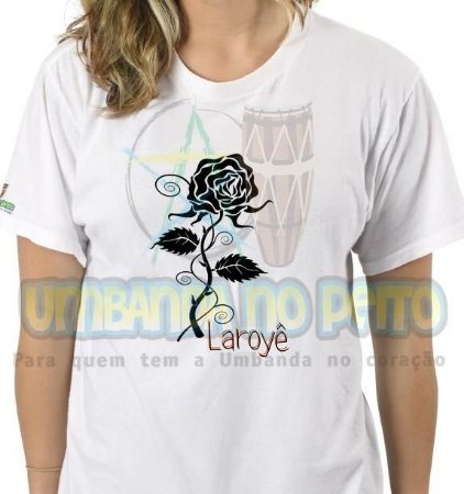 Camiseta Laroyê
