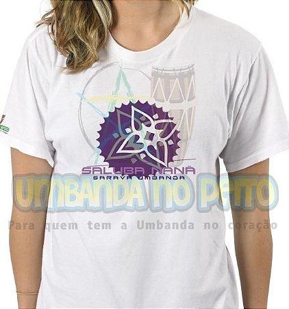 Camiseta Saravá Nanã