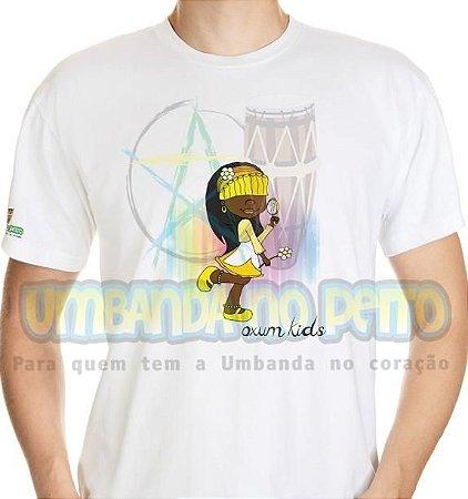 Camiseta Oxum Kids (amarela)