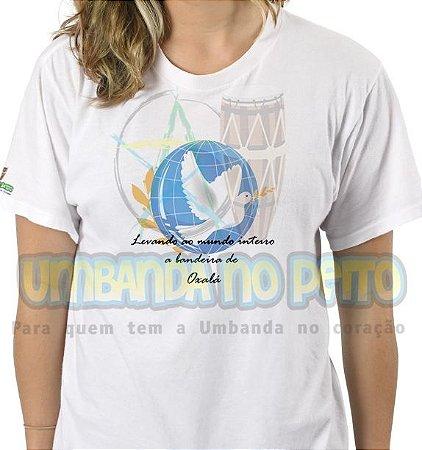 Camiseta Bandeira de Oxalá