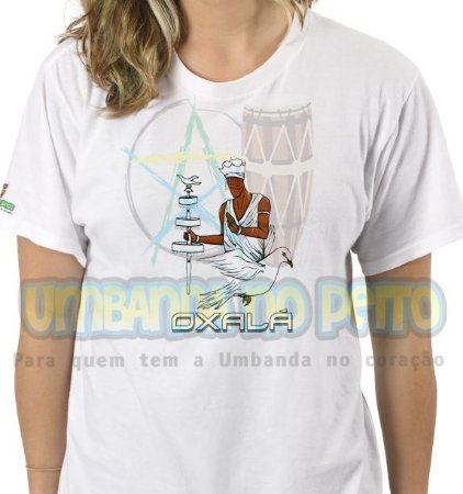 Camiseta Oxalá Coleção Orixás