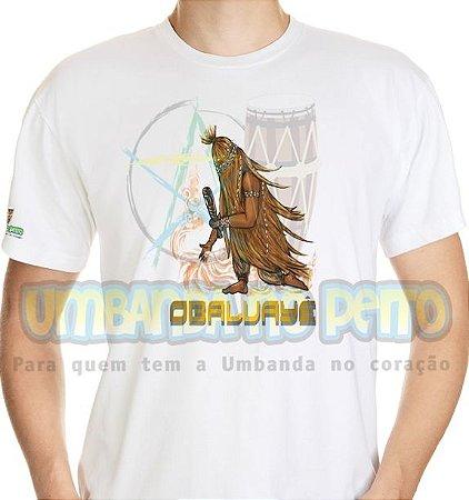 Camiseta Obaluayê Coleção Orixás