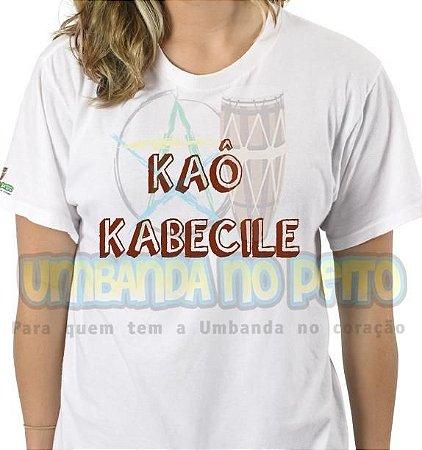 Camiseta Xangô Kao Kabecile